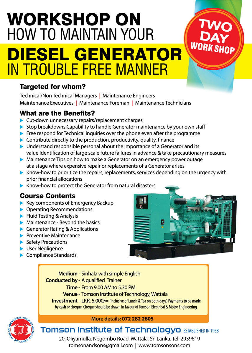 How to Maintain a Generator